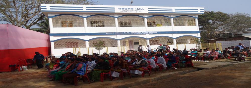 GP level BNRGSK and Bwbar Hall ( Community Hall) at Atharabhola